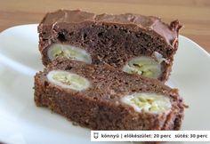 Csokoládés banánkenyér Sandwiches, Food, Essen, Meals, Paninis, Yemek, Eten