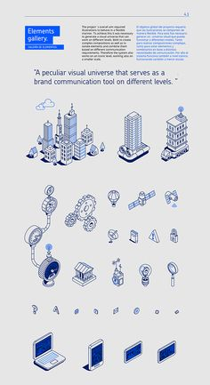 Isometric Illustration, Line Quality, Graphic Elements, Typography
