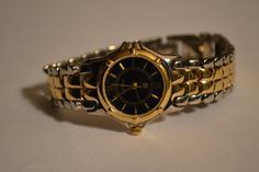 Two Toned Gold and Silver watch with beautiful by PinkPigEmporium, $12.00