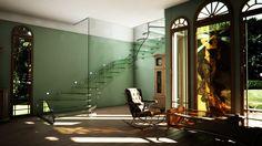 Busca imágenes de diseños de Vestíbulos, pasillos y escaleras estilo  de Siller Treppen/Stairs/Scale. Encuentra las mejores fotos para inspirarte y crear el hogar de tus sueños.
