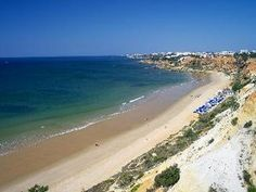 The cliff-top Sheraton Algarve Hotel overlooks miles of unspoiled beaches and is approximately 16 miles from Faro Airport #faroairport