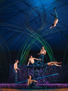 On The Wings Of Dreams Circus Art Cirque Du Soleil Night Circus