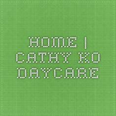 Home | Cathy Ko Daycare - Mandarin daycare in Daly City
