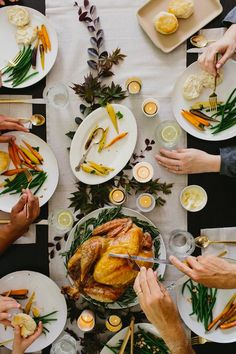 thanksgiving dinner // casual table