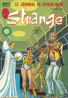 Couverture de Strange -201- Strange 201