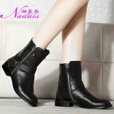 Find More Information about 2014 autumn and winter genuine leather boots Name Brand ANN Women Fashion Two Side Zipper  Martin,High Quality boot stories,China martin brown Suppliers, Cheap boot shoe from Name Brand Fashion Factory on Aliexpress.com