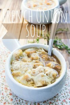 Easy French Onion Soup Recipe from @Shawn O {I Wash You Dry} #soup #onion #frenchonion