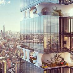 ODA Architecturea - New York #camilakleinarquiteta #arquitetura #odaarchitecture #ny #architecture #building #eco #ecofriendly
