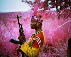 Image from Richard Mosse's exhibition The Enclave, documenting conflict in the eastern Democratic Republic of Congo. Shortlisted for the Deutsche Börse Photography Prize 2014 Photography Series, War Photography, Colour Photography, Richard Mosse, Alberto Garcia, Fotojournalismus, Viviane Sassen, Infrared Photography, New Era