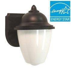 Lormont 1-Light Black Outdoor Wall Fixture
