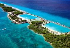 Aruba... this is the Renaissance Hotels private island....which I stayed at this March, it was amazing