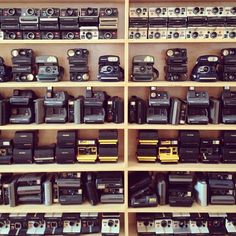 another shot of our camera wall via adelalibic's instagram feed