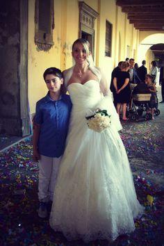 Un giorno speciale con un abito da favola www.kappadisposi.it