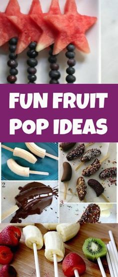 Summer is right around the corner and  fun fruit pop ideas are a great snack for those hot summer days! Perfect for toddlers, kids and adults. Feel good about giving your kids healthy and natural f…