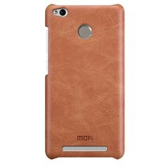 Mofi PU Leather Hard Back Cover Case For Xiaomi Redmi 3 pro Redmi 3S Sale - Banggood.com