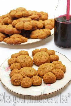 Les gourmandises d'Isa: BISCUITS PATTE D'OURS