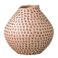 Deep vaasi, Bloomingville. Koristeellinen keramiikasta valmistettu vaasi. Vaasi omaa En dekorativ va...
