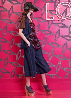 Louis Vuitton Resort 2013 – Vogue