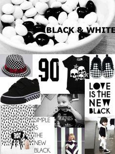 trend report | kindermode zomer 2014 | black & white | statement shirts |
