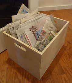 Custom Storage Boxes - Birch Plywood