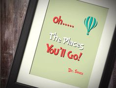 Dr Seuss inspired Baby Children Boy or Girl Birth by PeBeCreative, $5.00
