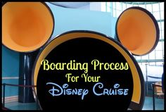 The boarding process for Disney Dream Cruise can be a bit overwhelming. Before heading to the departure area, there are a few things you should know