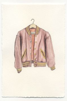 For Mr.Ingram the only colour in his vocabulary is Blue, as white technically isn't a colour. He was struck by this jacket though, the pink satin finish, he wondered how it would work with flappy linen trousers?