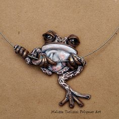 Brown tree frog Melissa Terlizzi