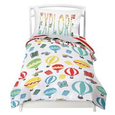 Conveniently Fits A Standard Size Toddler And Crib Mattress Reversible Comforter L X W Ed Sheet Deep
