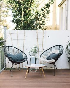 Balcony Chairs, Tire Chairs, Garden Chairs, Beach Chairs, Balcony Garden, Balcony Furniture, Wicker Chairs, Rooftop Garden, Plywood Furniture
