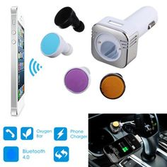 Wireless Mini Bluetooth Earphone Headset With Hands Free For iPhone