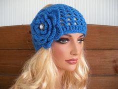 Crochet Headband Women Headband Winter Fashion ♥ by creationsbyellyn, $15.50