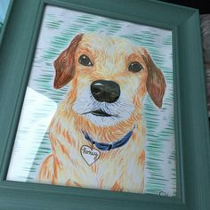 Memorial portraits with customization available, just ask!