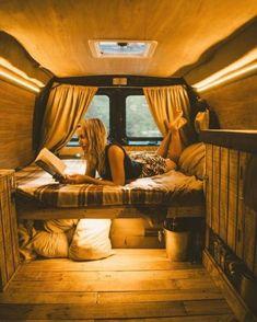 Camper van conversions that'll make happy with van girls 39 #KONI #KONIImproved #KONIExperience