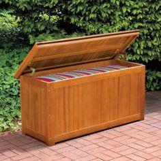 Garden Storage Box Wooden Garden storage box Garden Storage Boxes