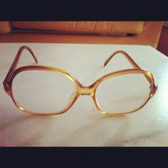 Vintage glasses. Round Glass, Glasses, Vintage, Eyewear, Eyeglasses, Vintage Comics, Eye Glasses