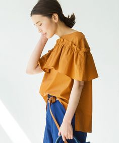 I like the uniqueness of this Sleeve Designs, Blouse Designs, Fashion Forecasting, Shirt Blouses, Shirts, Simple Outfits, Daily Wear, Tunic Tops, My Style