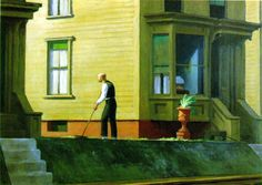 Pennsylvania Coal Town, 1947, Edward Hopper