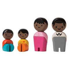 Wooden Family Figures by Plan Toys