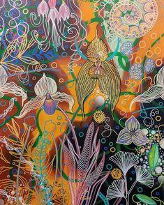 Magpie, Flowers, Painting, Art, Art Background, Painting Art, Kunst, Paintings, Performing Arts
