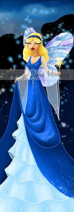 The Blue Fairy by JunebugHardee.deviantart.com