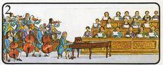 Handel también escribió muchas óperas. Aunque sus primeras obras fueron un éxito, las óperas fueron perdiendo popularidad en Inglaterra, encontrando cada vez más difícil que alguien se las financiase. Entonces empezó a escribir oratorios. El oratorio es como una ópera, pero con ternas religiosos. Se representa con una orquesta, coro y solista. El Mesías fue su oratorio más importante y llegó a convertirse en el patrón por el que se medían las demás piezas musicales de este tipo.
