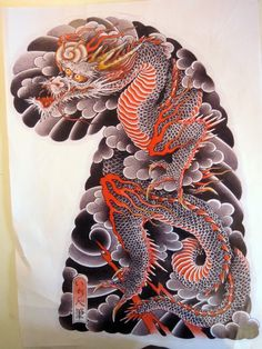 1000 images about dragon on pinterest japanese dragon tattoos dragon tattoo designs and. Black Bedroom Furniture Sets. Home Design Ideas