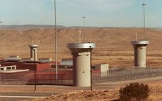 Fortress-like: The super-maximum-security federal prison in Florence, Colorado, where Abu Hamza is expected to be held Lower Manhattan, World Trade Center, Supermax Prison, Prison Officer, Boston, Survival Blog, Solitary Confinement, Federal Prison, Lock Up