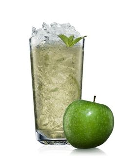 Bison Grass Vodka + apple + cinnamon = the right thing to do.