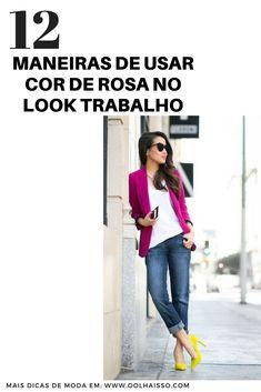 4d2b8e3818 12 looks que te ensinam a usar cor de rosa no look trabalho. Scarpin AmareloScarpin  ColoridoSapatos ...