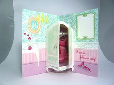 Freelance Greeting Card Paper Engineering by Nicolaas Burgers, via Behance