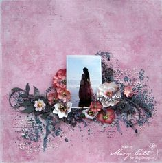 Mary's Crafty Moments: ''Forever'' - DT Layout for Maja Design September Inspiration