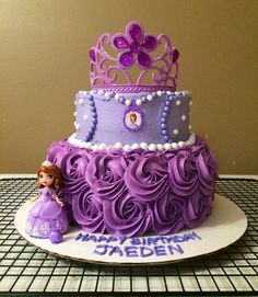 SOFIA THE FIRST CAKE CAKES Pinterest Cake Birthdays and Sofia