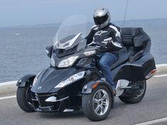 BRP Can-Am Spyder 1000 RT SM5 S : Le pullman trois étoiles - Moto ...